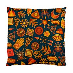 Pattern Background Ethnic Tribal Standard Cushion Case (two Sides)