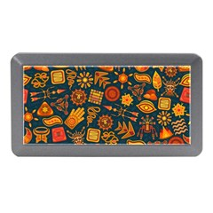 Pattern Background Ethnic Tribal Memory Card Reader (mini) by Nexatart