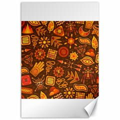 Pattern Background Ethnic Tribal Canvas 24  X 36
