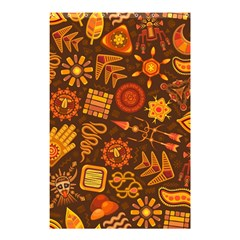 Pattern Background Ethnic Tribal Shower Curtain 48  X 72  (small)