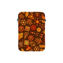 Pattern Background Ethnic Tribal Apple Ipad Mini Protective Soft Cases by Nexatart