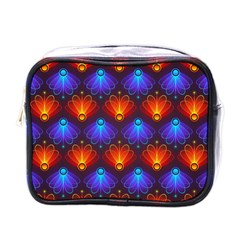 Background Colorful Abstract Mini Toiletries Bags
