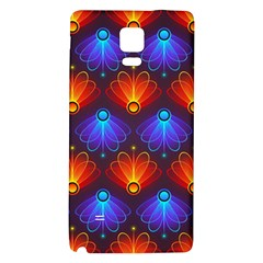 Background Colorful Abstract Galaxy Note 4 Back Case by Nexatart