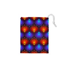 Background Colorful Abstract Drawstring Pouches (xs)  by Nexatart