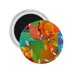 Background Colorful Abstract 2 25  Magnets by Nexatart