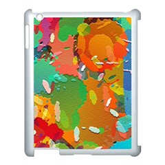 Background Colorful Abstract Apple Ipad 3/4 Case (white)