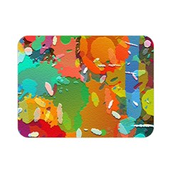 Background Colorful Abstract Double Sided Flano Blanket (mini)