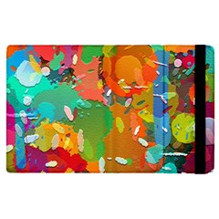 Background Colorful Abstract Apple Ipad Pro 9 7   Flip Case by Nexatart