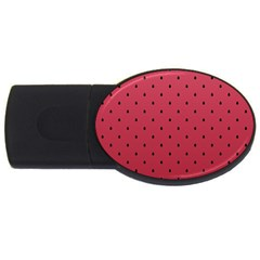 Watermelon Minimal Pattern Usb Flash Drive Oval (4 Gb)