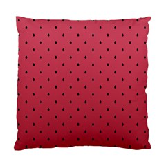 Watermelon Minimal Pattern Standard Cushion Case (two Sides) by jumpercat