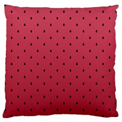 Watermelon Minimal Pattern Large Cushion Case (two Sides) by jumpercat