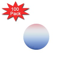 Red And Blue 1  Mini Buttons (100 Pack)  by jumpercat