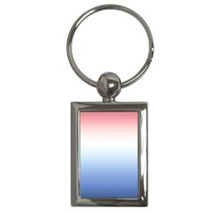 Red And Blue Key Chains (rectangle)