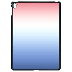 Red And Blue Apple Ipad Pro 9 7   Black Seamless Case
