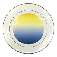 Sun Goes Down Porcelain Plates by jumpercat