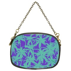 Electric Palm Tree Chain Purses (two Sides)