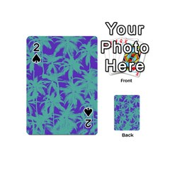 Electric Palm Tree Playing Cards 54 (mini)  by jumpercat