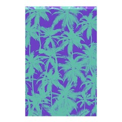 Electric Palm Tree Shower Curtain 48  X 72  (small)