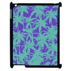 Electric Palm Tree Apple Ipad 2 Case (black)