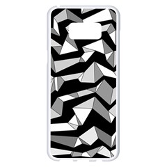 Polynoise Lowpoly Samsung Galaxy S8 Plus White Seamless Case