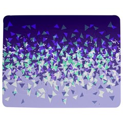 Purple Disintegrate Jigsaw Puzzle Photo Stand (rectangular) by jumpercat