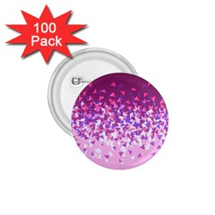 Pink Disintegrate 1 75  Buttons (100 Pack)
