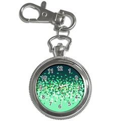 Green Disintegrate Key Chain Watches by jumpercat
