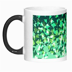 Green Disintegrate Morph Mugs by jumpercat