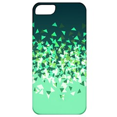 Green Disintegrate Apple Iphone 5 Classic Hardshell Case