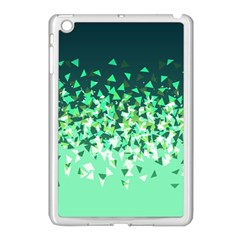 Green Disintegrate Apple Ipad Mini Case (white) by jumpercat