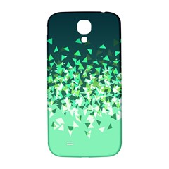 Green Disintegrate Samsung Galaxy S4 I9500/i9505  Hardshell Back Case by jumpercat