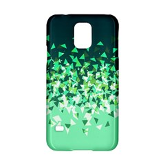 Green Disintegrate Samsung Galaxy S5 Hardshell Case  by jumpercat