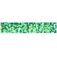 Green Disintegrate Large Flano Scarf