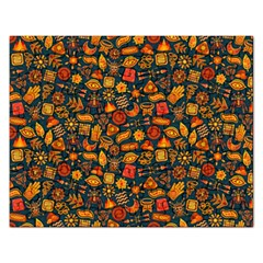 Pattern Background Ethnic Tribal Rectangular Jigsaw Puzzl by Nexatart