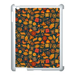 Pattern Background Ethnic Tribal Apple Ipad 3/4 Case (white) by Nexatart