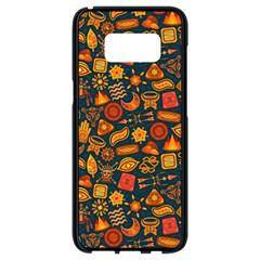 Pattern Background Ethnic Tribal Samsung Galaxy S8 Black Seamless Case