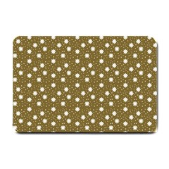 Floral Dots Brown Small Doormat