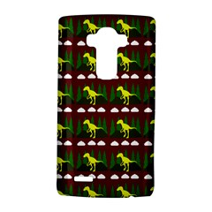 Dino In The Mountains Red Lg G4 Hardshell Case by snowwhitegirl