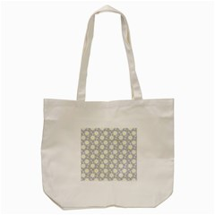 Daisy Dots Grey Tote Bag (cream)