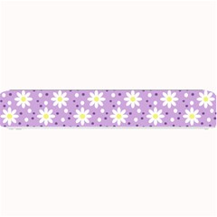 Daisy Dots Lilac Small Bar Mats by snowwhitegirl