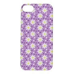 Daisy Dots Lilac Apple Iphone 5s/ Se Hardshell Case by snowwhitegirl