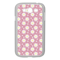 Daisy Dots Pink Samsung Galaxy Grand Duos I9082 Case (white) by snowwhitegirl