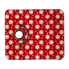 Daisy Dots Red Galaxy S3 (flip/folio) by snowwhitegirl