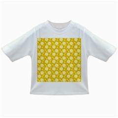 Daisy Dots Yellow Infant/toddler T Shirts by snowwhitegirl