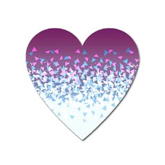 Disintegrate Carnivale Heart Magnet by jumpercat
