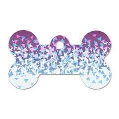 Disintegrate Carnivale Dog Tag Bone (two Sides)