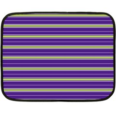 Color Line 1 Double Sided Fleece Blanket (mini)  by jumpercat