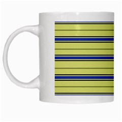 Color Line 3 White Mugs
