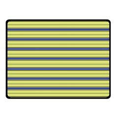 Color Line 3 Double Sided Fleece Blanket (small)  by jumpercat