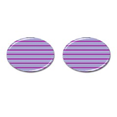 Color Line 4 Cufflinks (oval)